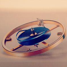 #airspring #parachrom #blue #watches #hautehorlogerie