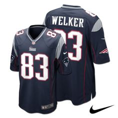 652d62ecc Wes Welker New England  Patriots Adult NFL Nike Game Jersey. Click to order!