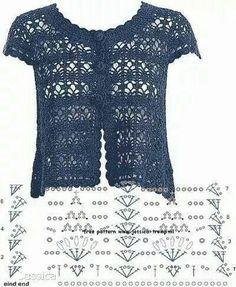 Stitch crochet pattern top women