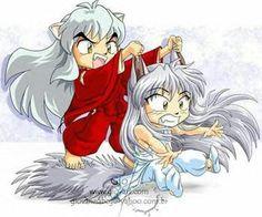 """Inuyasha & Yoko Kurama (""""Inuyasha"""" & """"Yu Yu Hakusho"""")"""