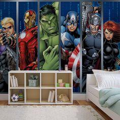 FOTOTAPETE VLIES FOTOMURAL XXL Marvel Avengers 964WS