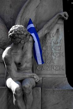 Greece wants to live and she shall. Happy Independence Day to you all! Greek Flag, Go Greek, Greek Art, Greek Life, Patras, Greek Independence, Happy Independence Day, Greece Today, Kai
