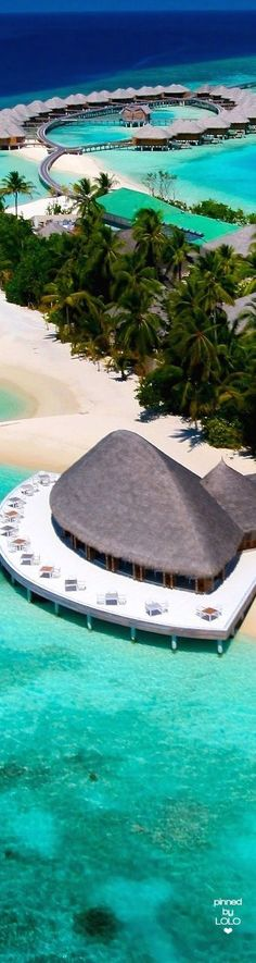 "Huvafen Fushi ""The Dream Isle"", in the Maldives"