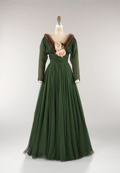 Norman Norell dress ca. 1957 via The Costume Institute of the Metropolitan Museum of Art ...