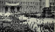 The Russian Revolution of 1917 began in Saint Petersburg when the Bolsheviks stormed the Winter Palace