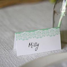 10 x Mint Green Place Cards Wedding Mint Green, Ivory Wedding, Our Wedding, Wedding Ideas, Wedding Place Settings, Wedding Place Cards, Wedding Stuff, Destination Wedding Decor, Wedding Planning
