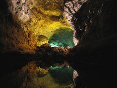 Cueva de Los Verdes. Lanzarote, Canary Islands Spain