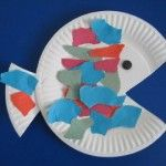 Preschool Crafts for Kids*: Easy Paper Plate Fish Craft Paper Plate Fish, Paper Plate Crafts, Paper Plates, Paper Fish, Fish Plate, Daycare Crafts, Toddler Crafts, Crafts For Kids, Arts And Crafts