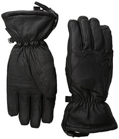Gordini Womens The Leather Goose III Gloves Black Medium * Visit the image link more details.