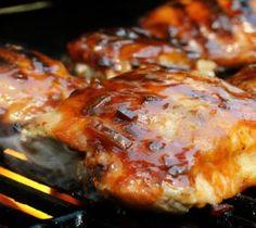 yummy grilled bbq chicken