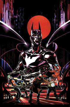 BATMAN BEYOND UNIVERSE #9 Written by KYLE HIGGINS and CHRISTOS N. GAGE Art by THONY SILAS and DEXTER SOY Cover by TREVOR McCARTHY
