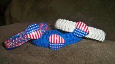 Womans Paracord bracelets- $8 www.etsy.com/shop/md550design for custom orders