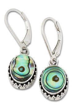Abalone Shell, Silver Beads, Sterling Silver Jewelry, Blue Green, Shells, Personalized Items, Earrings, Design, Products