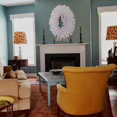 The Home Sweet Home Tour at The Bold Abode, featuring out Family Room. It's not perfectly, but it's perfectly ours...