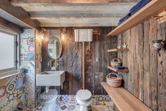 Dont Forget The Bathroom When Home Decorating Green Bathroom Decor, Bathroom Towel Decor, Interior Architecture, Interior And Exterior, Architecture Portfolio, Thrifty Decor, Interior Design Services, Home Remodeling, Water Mill