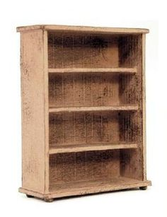 how to: 1/24th scale bookcase by Bea Broadwood (AIM #29, page 52)