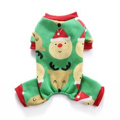 S-Lifeeling Santa Claus Reindeer Dog Costumes Holiday Halloween Christmas Pet Clothes Soft Comfortable Dog Clothes -- Details can be found by clicking on the image. (This is an affiliate link) Fox Terriers, Christmas Kitten, Christmas Animals, Chihuahua, Costume Chien, Fashion Models, Pet Dogs, Dog Cat, Puppies In Pajamas
