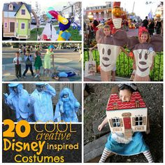 The Adventures of Jolly and Happy: 20 Cool Creative Disney Inspired Costumes