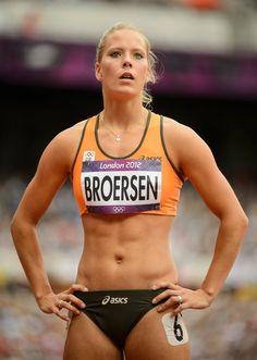 Nadine Broersen - Dutch athlete.