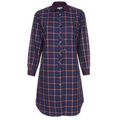 Paul Smith Dresses | Navy Checked Shirt Dress