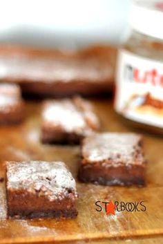 Arabafelice in cucina!: Brownies alla Nutella di Nigella Lawson