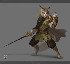 Catkin fighter/rogue