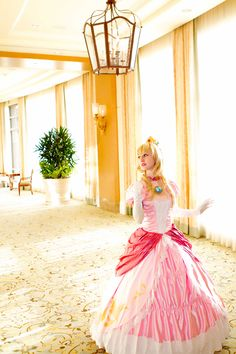 Peach - Welcome to MY castle. by elliria.deviantart.com on @deviantART
