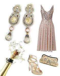 Love this sparkling NYE look from @doricsengeri!!! #newyearseve #champagne