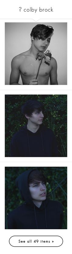 """""""― colby brock"""" by coffee-in-bloom ❤ liked on Polyvore"""