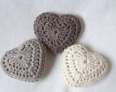 crochet hearts with lavender--great Christmas gifts!