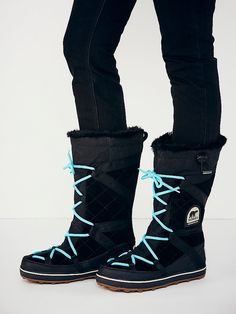 Sorel Glacy Explorer Tall Weather Boot at Free People Clothing Boutique