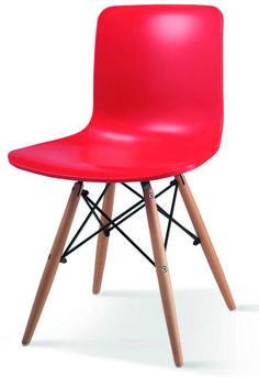 Cordona tuoli punainen