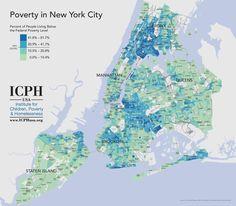Source: U.S. Census Bureau, 2006-10 American Community Survey 5-year Estimates. #NYC #Poverty #map