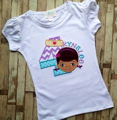 Doc McStuffins birthday shirt by LillysBowtique on Etsy, $23.00