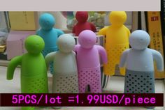 Free Shipping// factory direct// Mr Tea Infuser  Mr.Tea Infuser /   Mr Tea Strainers (OPP package) 7 colors to choose