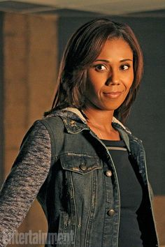 Get ready to meet the new investigator in Castle's life!  Neighbors alum Toks Olagundoye makes her debut as free-spirited and quick-witted independent investigator Hayley Shipton in the Castle season premiere — and EW has the exclusive first look.