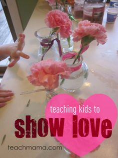teaching children the importance of showing love | everyday acts of kindness #weteach