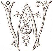 Monogram W 1930