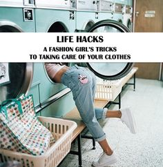 taking care of your clothes