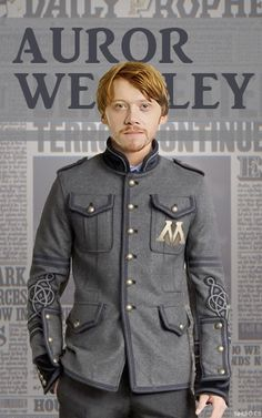 Post Deathly Hallows: Ron Weasley