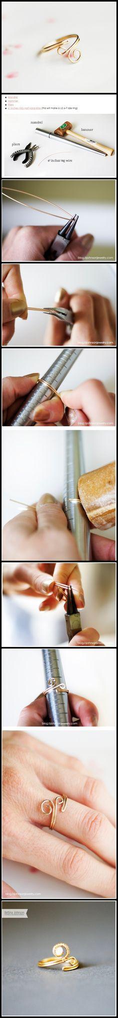 DIY - making hand made ring