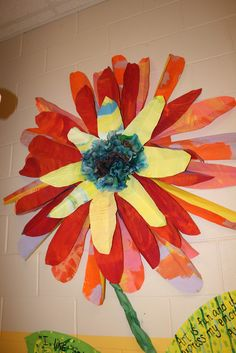 it's an HSES Arty Party!: Why Do You Love Art? >>Coffee Filter Flowers