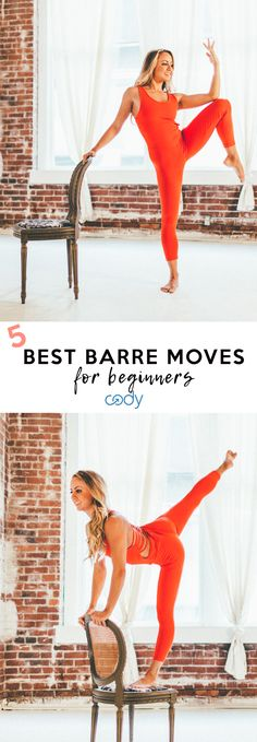 Five Easy Ballet Barre Moves for Beginners