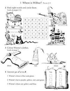 Fuentes' English Corner : Winnie the Witch Activity Sheets English Reading, English Book, English Lessons, Learn English, The Witcher, Winnie The Witch, Teaching Tools, Teaching Kids, Children's Book Week