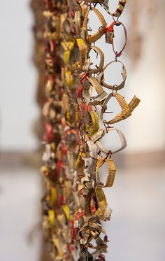 Art Installation: El Anatsui, Brooklyn Museum (detail)