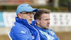 Trainergespann Andreas Seipel und Martin Hauswald (Nordhausen). | Foto: imago/Björn Draws - http://DRAWS.PHOTOGRAPHY