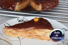 Gâteau de crêpes caramel-chocolat