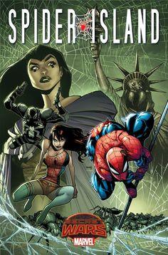 """Spider-Island,"" Spider-Girl Swing Into ""Secret Wars"" - Comic Book Resources °°"