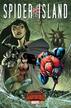 """Spider-Island,"" Spider-Girl Swing Into ""Secret Wars"" - Comic Book Resources °°"