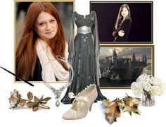 """Ginny Weasley - Potter"" by jen8f9 ❤ liked on Polyvore"